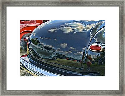 Reflections Framed Print by Nick Roberts