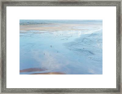 Reflections Of Nature Framed Print by Svetlana Sewell
