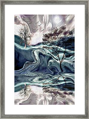 Reflections Of Nirvana Framed Print