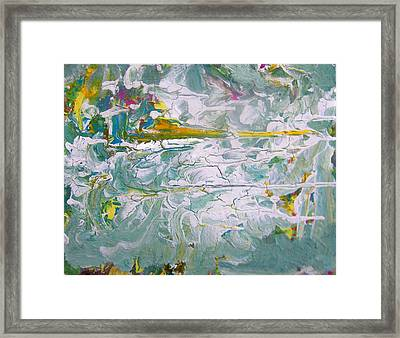 Reflections On The Economy Framed Print