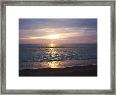 Reflections On The Water Framed Print by Joyce Kimble Smith