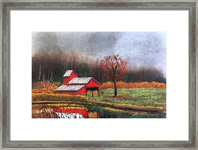 Reflections Framed Print by William Renzulli