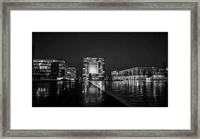 Reflective Evening Framed Print
