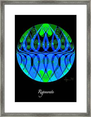 Regenerate Framed Print