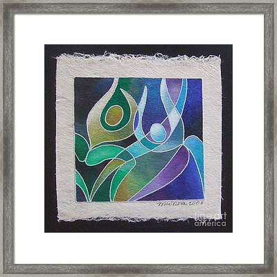 Reki Iv - Dance For Joy Framed Print