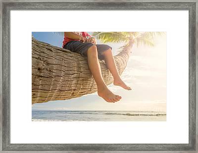 Relaxing Framed Print by Mariusz Blach