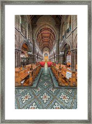 Religious Path Framed Print by Adrian Evans