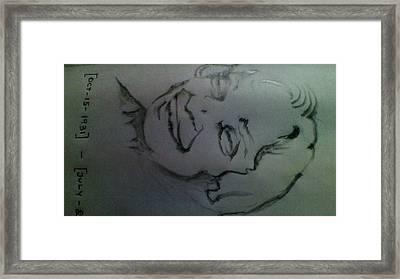Remembrance Of Dr.a.p.j.abdul Kalam Framed Print by P Yoga Nandhan