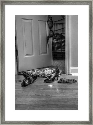 Rendezvous Do Not Disturb 02 Framed Print by Andy Lawless