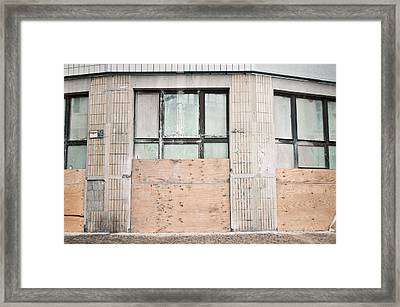 Renovations Framed Print by Tom Gowanlock