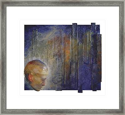 Resolve Framed Print by Rosemary Wessel