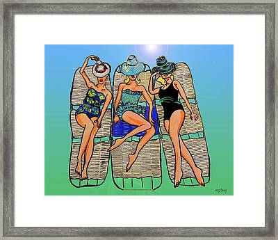 Retro Framed Print