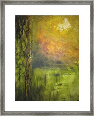 Framed Print featuring the painting Revealing Of The Wisdom by Rushan Ruzaick