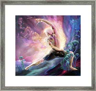 Reverse Warrior Framed Print by George Atherton