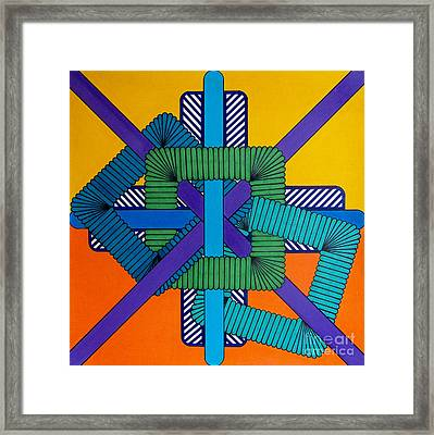 Framed Print featuring the drawing Rfb0600 by Robert F Battles
