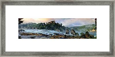 Rhinefalls, Switzerland Framed Print by Elenarts - Elena Duvernay photo