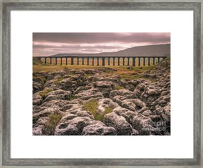Ribblehead Viaduct Framed Print by Peter Stuart