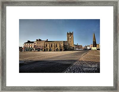 Richmond, North Yorkshire Framed Print