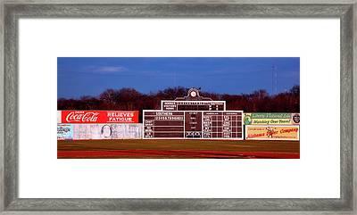 Rickwood Field Framed Print
