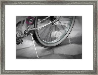 Ride With Me Framed Print by Carolyn Marshall