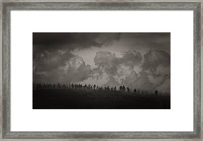 Framed Print featuring the photograph Ridgeline by Tim Nichols