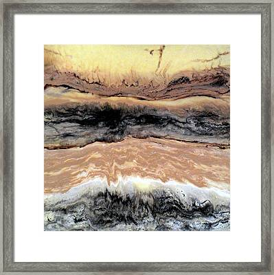 Riding The Storm Out Framed Print