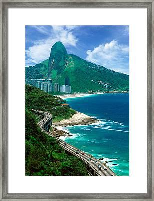 Rio De Janeiro Brazil Framed Print by Utah Images