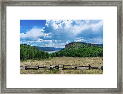 Rio Grande Headwaters #3 Framed Print