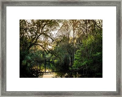 River Bridge Framed Print by Marvin Spates