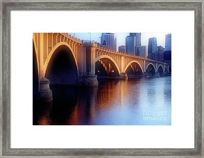 River Bridge II Framed Print