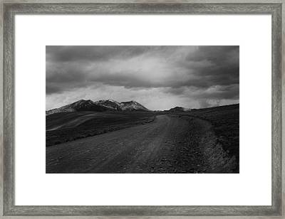 Road To Chacaltaya Framed Print