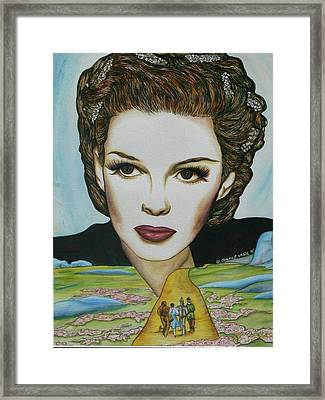Road To Oz Framed Print by Joseph Lawrence Vasile