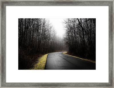 Roads To Nowhere Framed Print