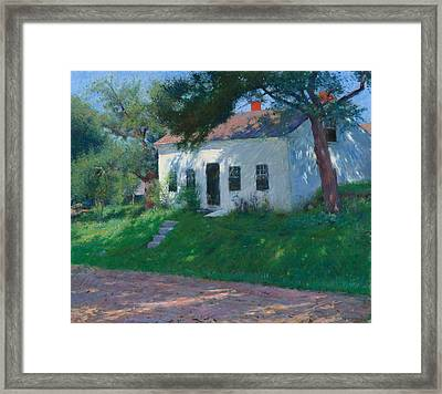 Roadside Cottage Framed Print by Mountain Dreams