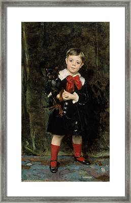 Robert De Cevrieux  Framed Print by John Singer Sargent