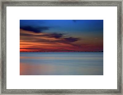 Robert Moses Causeway Framed Print by Rick Berk