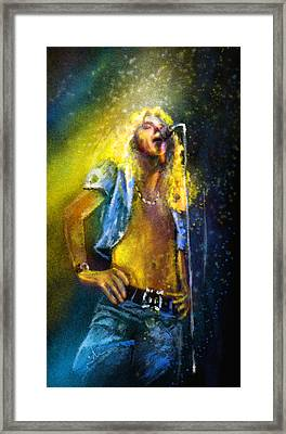 Robert Plant 01 Framed Print