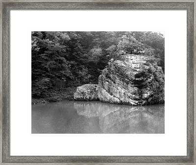 Rock Framed Print by Curtis J Neeley Jr