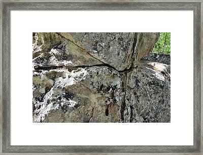 Rock Framed Print by Natalia Kazana