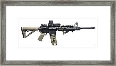 Rock River Arms Ar-15 Rifle Equipped Framed Print