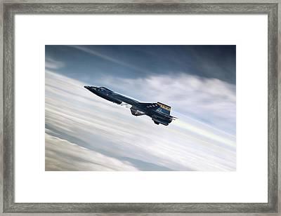 Rocket Man Framed Print