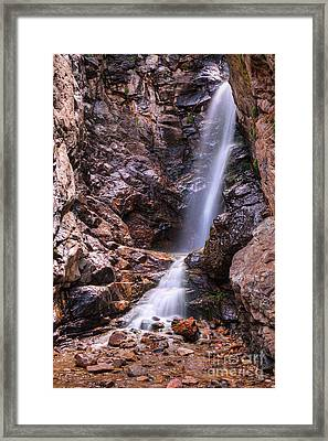 Framed Print featuring the photograph Rocky Mouth by Spencer Baugh