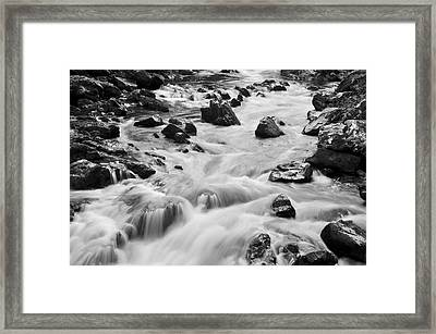 Rocky River Framed Print