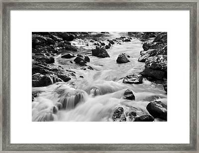 Rocky River Framed Print by Svetlana Sewell