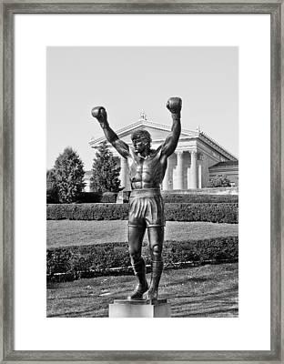 Rocky Statue - Philadelphia Framed Print