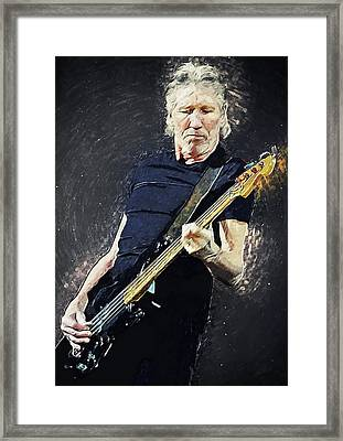Roger Waters Framed Print