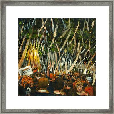 Rolling Toomers Framed Print by Carole Foret