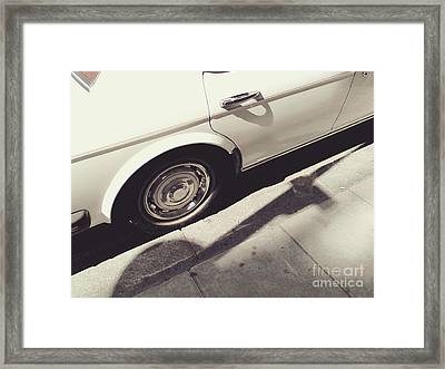 Framed Print featuring the photograph Rolls Royce Baby by Rebecca Harman