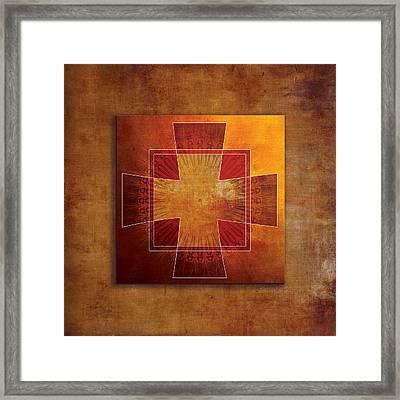Roman Cross #3 Framed Print
