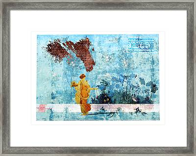 Roman Holiday I Framed Print